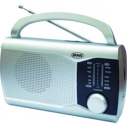 RADIO B 6009 ANALOGOVE STRIBRNE BRAVO