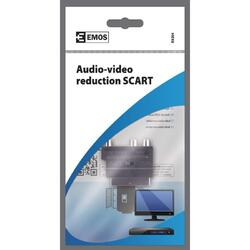 ADAPTER SCART3CINCH+SVHS K9304 - 2
